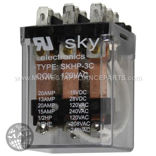 01-402675-00753 Berkel Motor Relay16a 120v