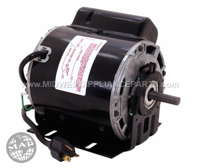 "0547A A.o. smith 1/8hp 115v 700rpm 5-5/8"" motor"
