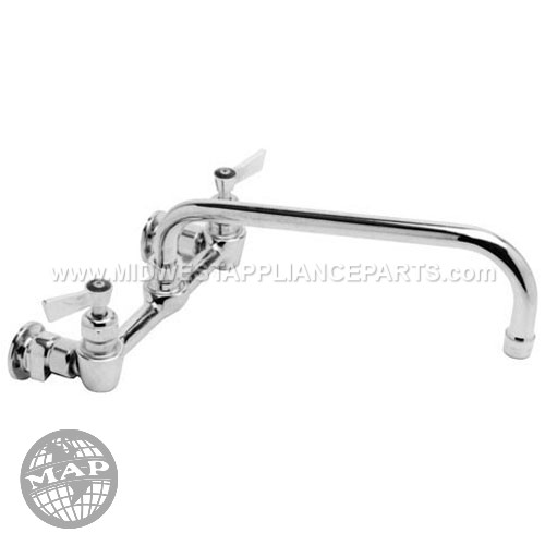 13269 Fisher Wall Mounted Faucet8 Ctr Wall 12 Noz