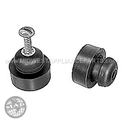 1381A A.o. smith Mounting rubbers; 3pk