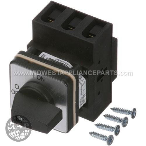 23193 Nieco Switch Rotary 3-pole