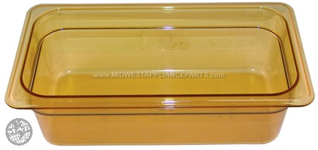 34HP Cambro Hot Pan 1/3 X 4-150amber