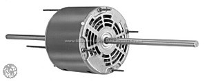 3862 Fasco 1/5 Hp 1625Rpm/3 Spd 208-230V Motor