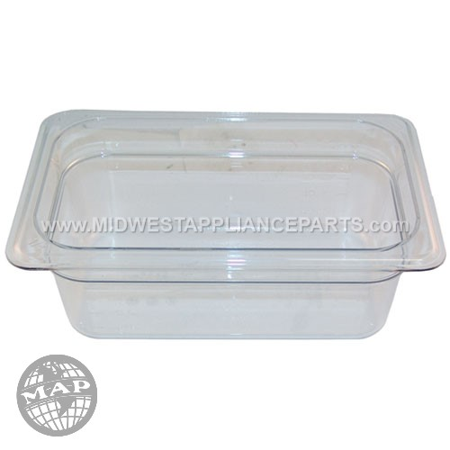 44CW Cambro Pan Poly Fourth X 4 -135