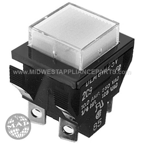 61340 Blickman Switch On/off Mom Pushbutton