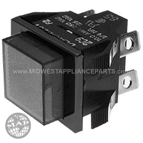 61580 Blickman Switch On/off Pushbutton