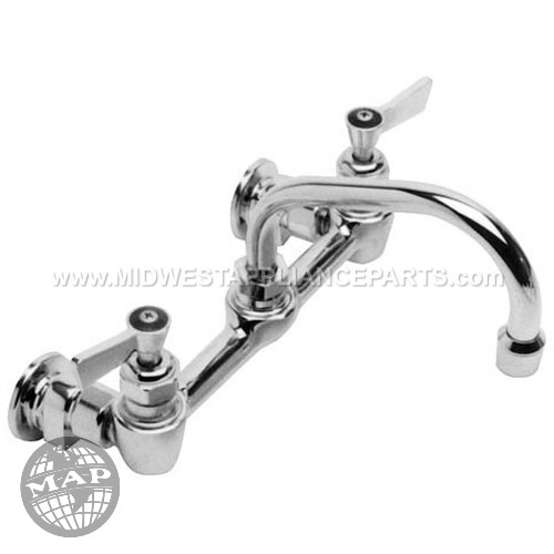 64769 Fisher Adjustable Pantry Faucet8 Ctr Wall 12 Noz