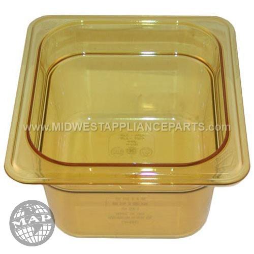 64HP Cambro Hot Pan 1/6 X 4 - 772sandstone