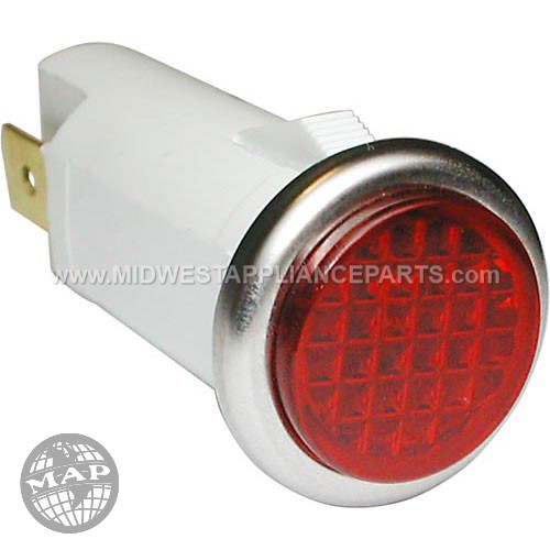 705160 Supersystems Signal Light1/2 Red 250v