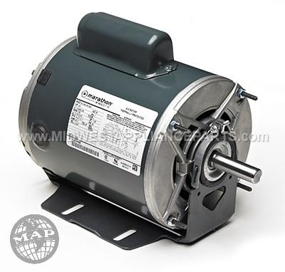 B609 Marathon 3/4 Hp 1725 Rpm 277 Volts Motor