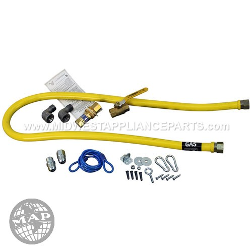 BKG-GHC-5060-SKC3 BK Resources Jet Force Hose Kit - 1/2 X 60