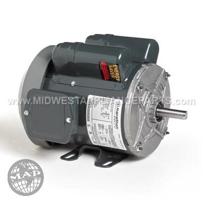 C271 Marathon 3/4 Hp 1140 Rpm 115/230 Volts Motor