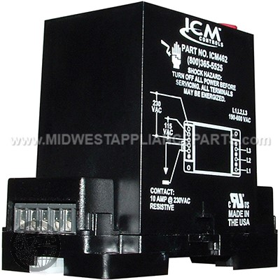 ICM461 ICM CONTROLS 3PH MONITOR UNIVERSAL 190-600V