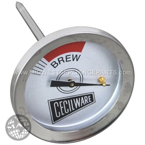 L007A Cecilware Thermometer2 Brew  3/8