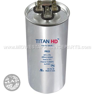 PRCD805A Titan HD 80+5Mfd 370V Round