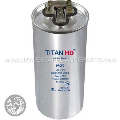 PRCFD805A Titan HD 80+5Mfd 440/370V Round