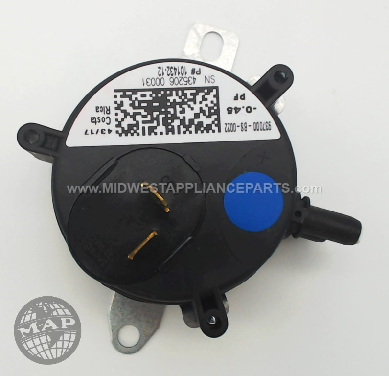 "R101432-12 Armstrong -.45""wc spst pressure switch"