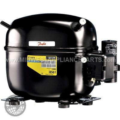 SC12MLX-1 Secop Nidec Recip Compressor R404/R507