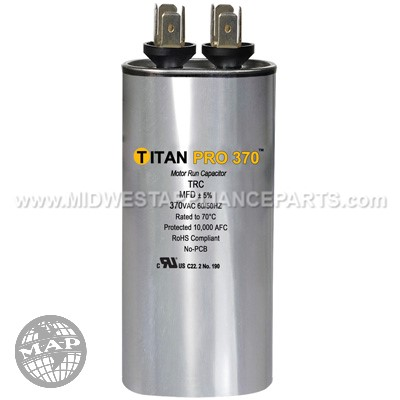 TRC5 Titan Pro 5 Mfd 370V Round